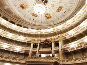 Besuch in der Semperoper