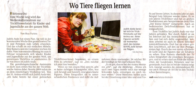 Sächsische Zeitung, 31.01.2013